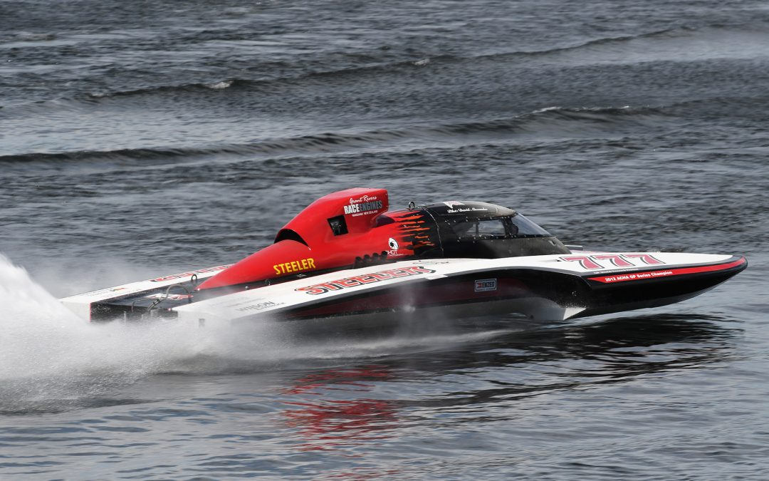 Waverley racer David Alexander takes the lead in the Hydro Thunder hydroplane Series with a round to go