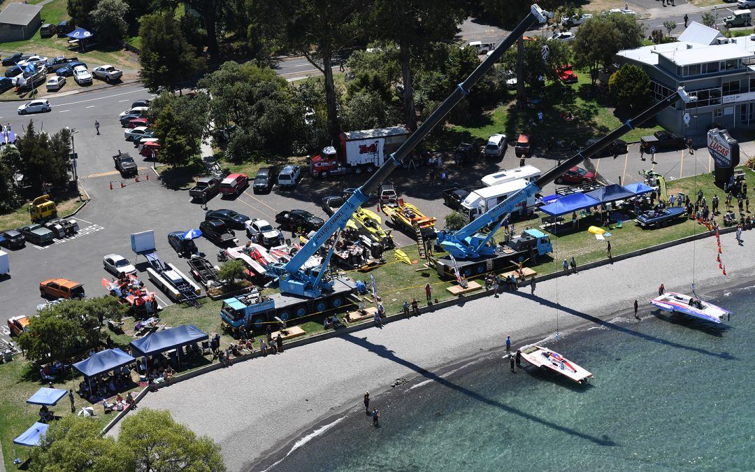 Hydro Thunder – Taupo Race Schedule